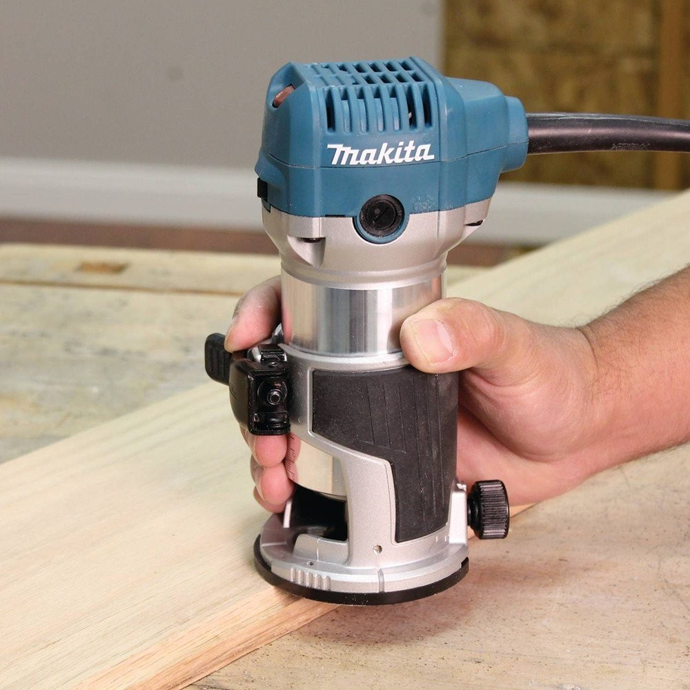 Makita Rt0700cx4 1 4 Router Laminate Trimmer With