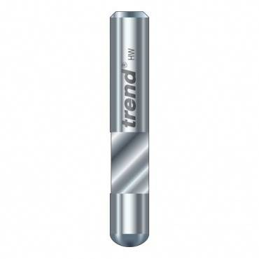 Trend S48/40X1/4STC Economy trimmer 6.3 mm dia. 10mm lng.