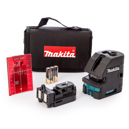 Makita SK103PZ 4-Point Self Leveling Cross Line Laser Level/Point Laser Kit