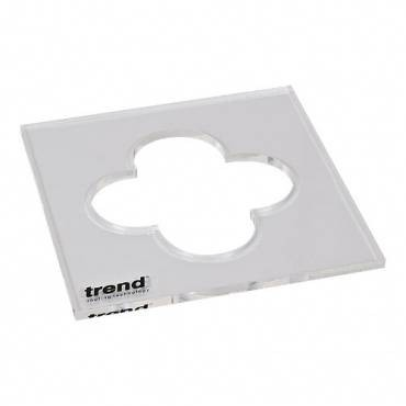 Trend TEMP/IN/CLO Template inlay clover