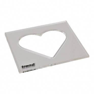 Trend TEMP/IN/HEA Template inlay heart