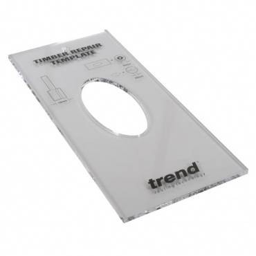 Trend TEMP/TRKX1/4 Template Timber Repair kit
