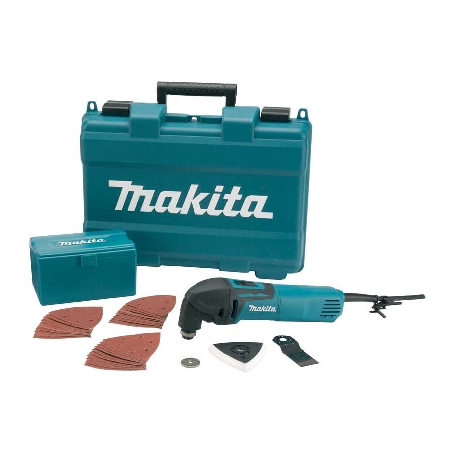 Makita TM3000CX4 Oscillating Multi Cutter 240v