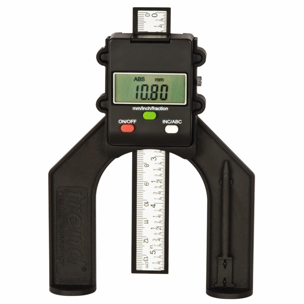 Trend GAUGE/D60 Digital Depth Gauge for Routers, Tables & Saw Benches