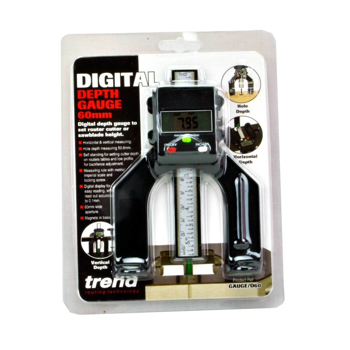 Trend gauged60 digital depth gauge for routers tables saw trend gauged60 digital depth gauge for routers tables saw benches greentooth Images