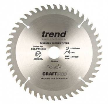 Trend TRECSB/PT21060 Craft Blade Pt Tcp 210 x 60T x 30mm