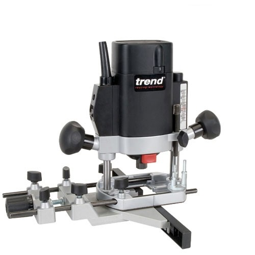 "Trend T5EB 1000W 1/4"" Variable Speed Router 240v Basic"