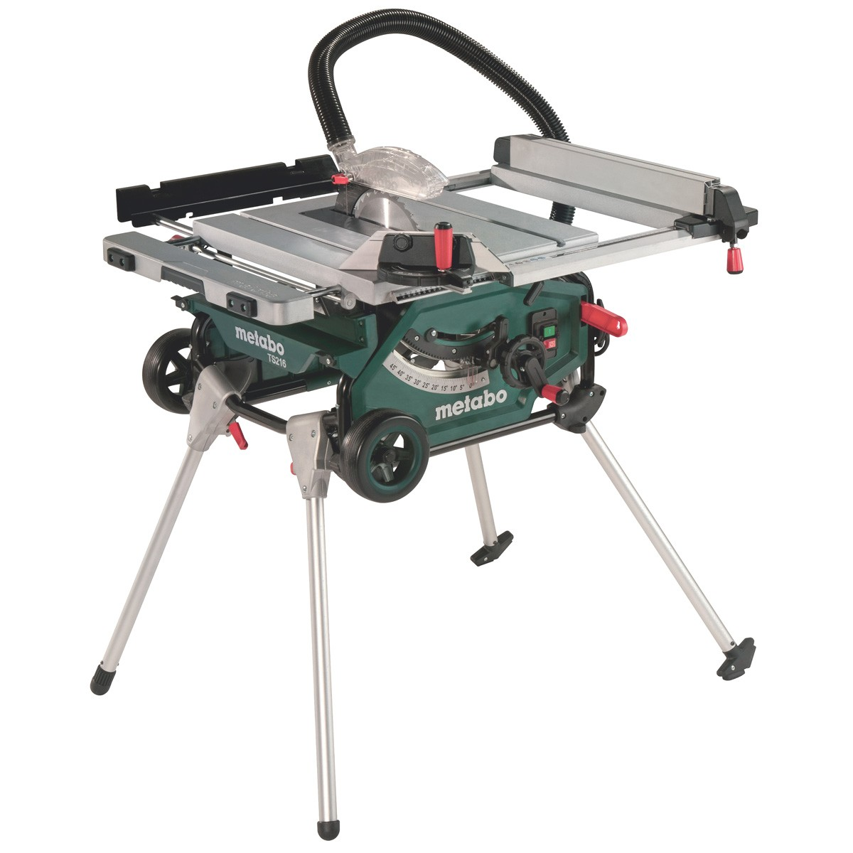 Metabo Ts 216 Floor Table Circular Saw With Base Frame Trolley 240v Powertool World