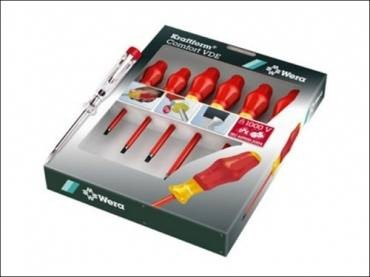 Wera Kraftform Comfort VDE Screwdriver Set 7 Piece
