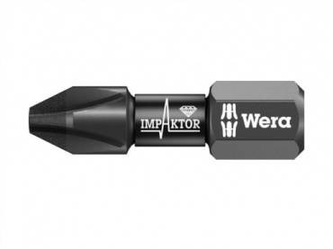Wera 851/1 Impaktor Bit Phillips PH2 x 25mm Carded