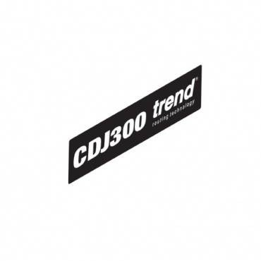 Trend WP-CDJ300/11 CDJ300 Label