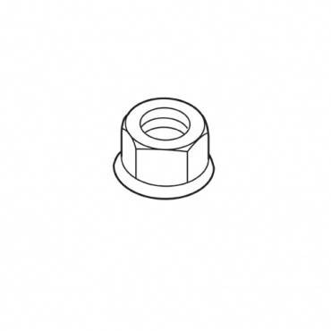 Trend WP-NUT/18 M6 full nyloc hex nut