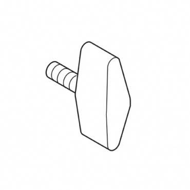 Trend WP-KNOB/01 Locking knob M6 x 10mm 1 off