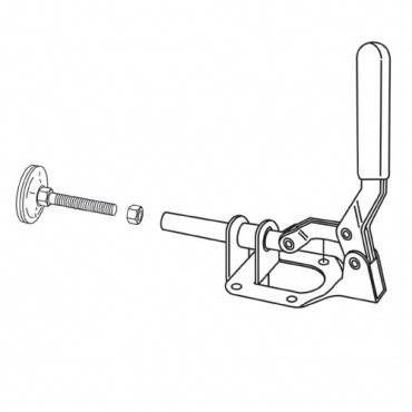 Trend WP-PHJ/06 Push-Pull clamp complete PH/JIG