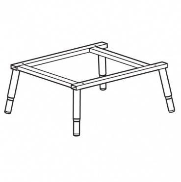 Trend WP-PRT/32 PRT table frame welded