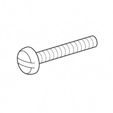 Trend WP-SCW/30 M6x40mm pan slot machine screw