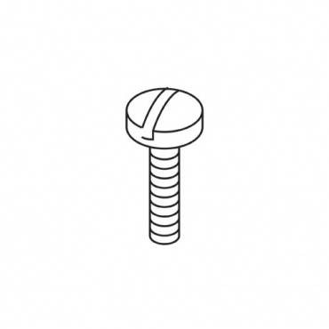Trend WP-SCW/91 UNC8-32 x 3/4 pan slot machine screw