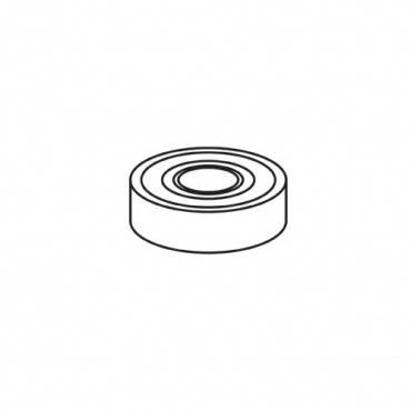 Trend WP-T2/021 Bottom bearing 17 x 35X 10mm 6003ZZ