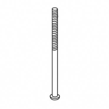 Trend WP-T4/024 Machine screw M4 x 63mm Pozi