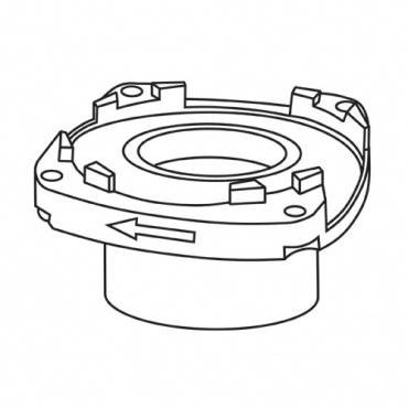 Trend WP-T3/027 Bottom bearing housing T3
