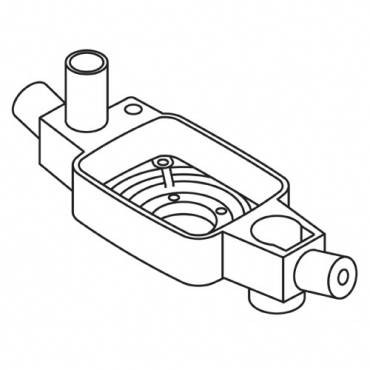 Trend WP-T5/004 Lower bearing housing T5