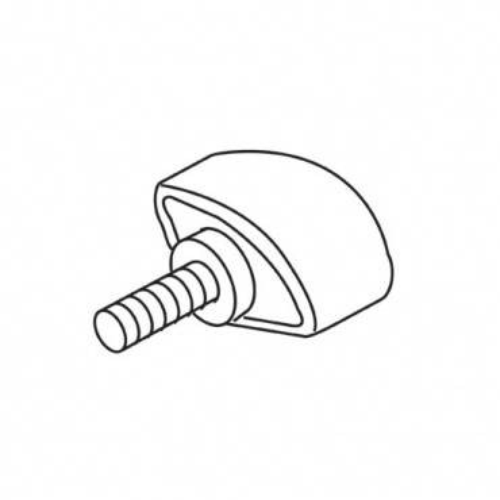 Trend WP-T5/011 Thumb knob M6 x 12 T5