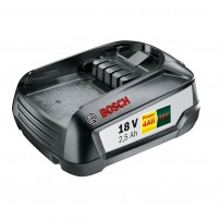 Bosch Green 18v 2.5Ah Lithium-Ion Battery Power4All 1600A005B0