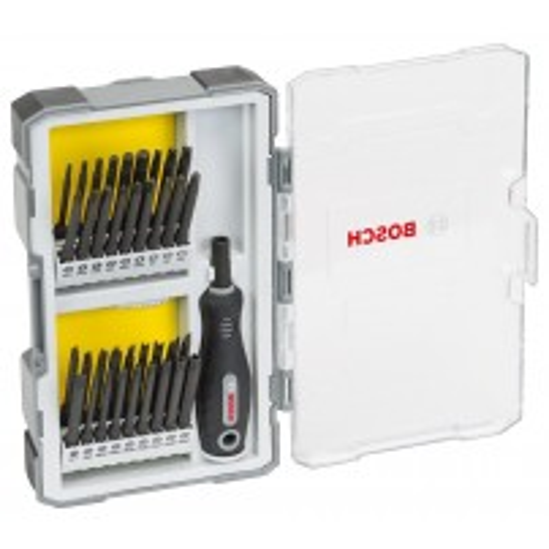 Bosch 37pc SDB Security Bit Set With Handle 2607017320