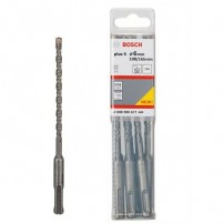 Bosch SDS-plus-5 Drill Bits 6mm x 100mm x 165mm Pack of 10 2608585617