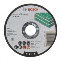 Bosch Straight Cutting Disc Expert for Stone Grinding 115mm 2608600320