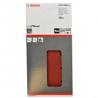 Bosch Orbital Sanding Sheets 115 x 230mm (Pack of 10) 2608605268