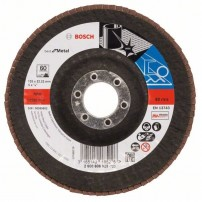 Bosch 60 Grit Flap Disc X571 Best for Metal Grinding 125mm 2608606923
