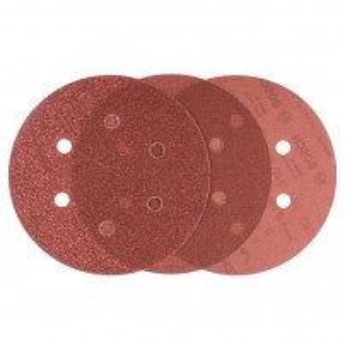 Bosch Assorted Grit 150mm Random Orbit Sanding Sheets Expert for Wood 6 Pcs 2608607247
