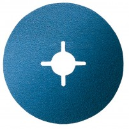 Bosch 36 Grit,Pack of x50 Fibre Sanding Disc Best for Metal 115mm 2608607254