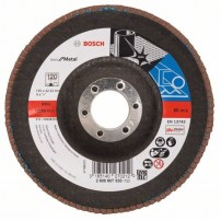 Bosch 120 Grit Flap Disc X571 Best for Metal Grinding 125mm 2608607320