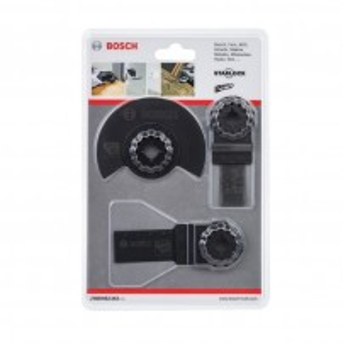 Bosch Starlock Universal Multi-Cutter Blade Set for Wood x3 Pcs 2608662343