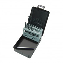 Milwaukee Metal Drill Bit Set HSS-R in Metal Case x19 Pcs 4932352468