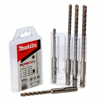 Makita B-16938 5 Piece Nemesis SDS+ Plus Drill Bit Set
