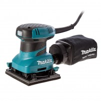 Makita BO4555 Hook & Loop / Clamp Finishing Palm Sander inc Dustbag