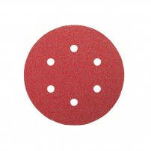 Bosch Grit 120 150mm Random Orbit Sanding Sheets for Wood 5 Pcs 2608605089