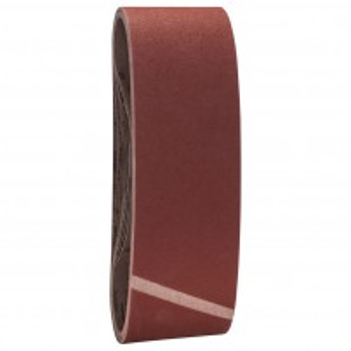 Bosch 120 Grit Sanding Belt Set 75 x 533mm 10 Pcs 2608607259