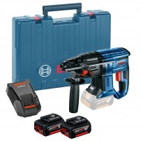 Bosch GBH 18 V-20 SDS+ Plus Cordless Rotary Hammer inc 2x 5.0Ah Batts