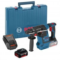 Bosch GBH 18 V-26 SDS+ Plus Brushless Rotary Hammer inc 1x 5.0Ah Batt