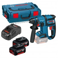 Bosch GBH 18 V-EC Brushless SDS+ Rotary Hammer inc 2x 5Ah Batts 0611904077