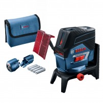 Bosch GCL 2-50 C Self-Levelling Combi Line & Point Laser + RM2 Wall Mount