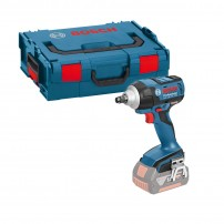 "Bosch GDS 18 V-EC 250 18v High Torque 1/2"" Impact Wrench Body Only in L-Boxx"
