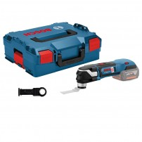 Bosch GOP 18 V-28 Starlock Plus Brushless Multi-Cutter with Blade Body Only in L-Boxx