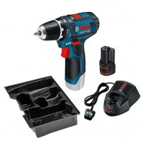 Bosch GSR 10.8-2-LI (12V-15) Drill Driver inc 1x 2.0Ah Battery 0615990FZ8