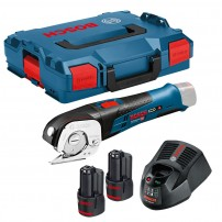 Bosch GUS 12V-300 (10.8 V-LI) Cordless Universal Shear inc 2x 2.0Ah Batts