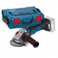 Bosch GWS 18V-115 SC Brushless Angle Grinder Body Only in L-Boxx 115mm / 4.5""